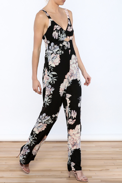Shoptiques Product: Pretty In Peonies Jumpsuit