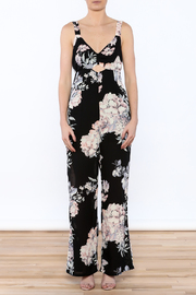 Ark & Co. Pretty In Peonies Jumpsuit - Front cropped