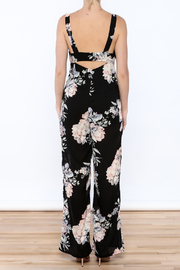 Ark & Co. Pretty In Peonies Jumpsuit - Back cropped