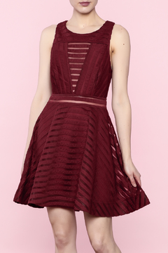 Shoptiques Product: Red Fit and Flare Dress