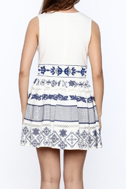 Ark & Co. White Lace Flare - Back cropped