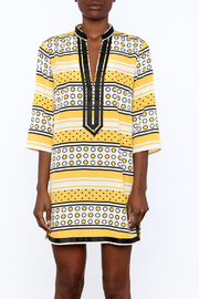 Ark & Co. Yellow Dot Tunic - Side cropped