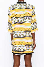 Ark & Co. Yellow Dot Tunic - Back cropped