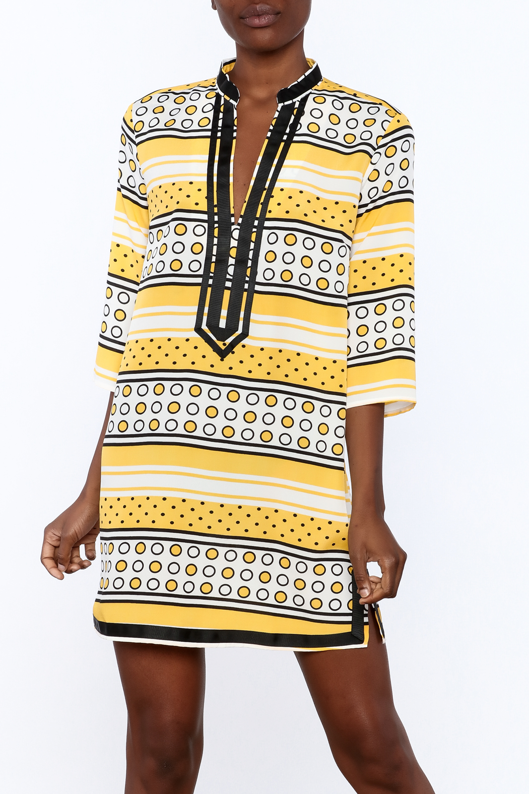 Ark & Co. Yellow Dot Tunic - Main Image