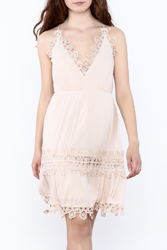 Ark & Co. Beige Gypsy Dress - Product List Image