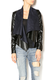 Ark & Co. Vegan Leather Jacket - Front cropped