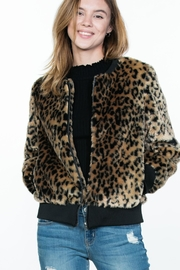 Ark & Co. Leopard Animal-Print Jacket - Product Mini Image
