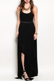 Ark & Co. Black Maxi Dress - Front cropped