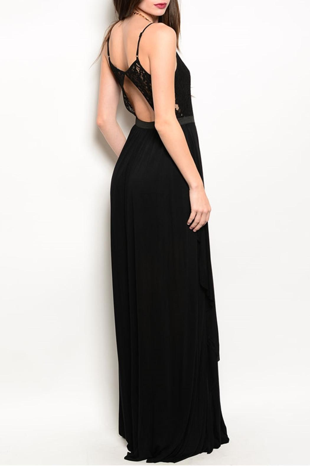 Ark & Co. Black Maxi Dress - Front Full Image