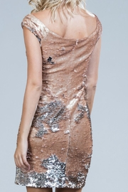 Ark & Co. Blush Sequin Dress - Side cropped
