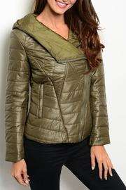 Ark & Co. Bomber Hood Jacket - Product Mini Image
