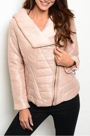 Ark & Co. Bomber Hood Jacket - Front cropped