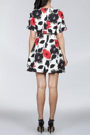 Ark & Co. Floral Cutout Dress - Side cropped