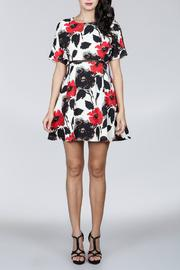 Ark & Co. Floral Cutout Dress - Product Mini Image