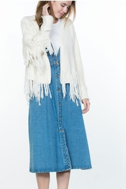 Ark & Co. Fringe Sweater Cardigan - Product Mini Image