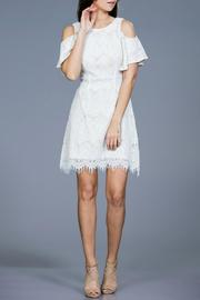 Ark & Co. Lace Shoulder Dress - Product Mini Image