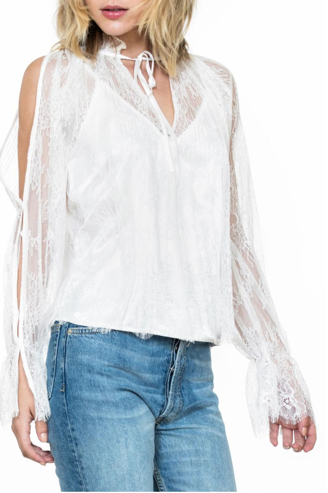 Ark & Co. Lace Top - Side Cropped Image