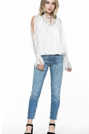 Ark & Co. Lace Top - Front cropped