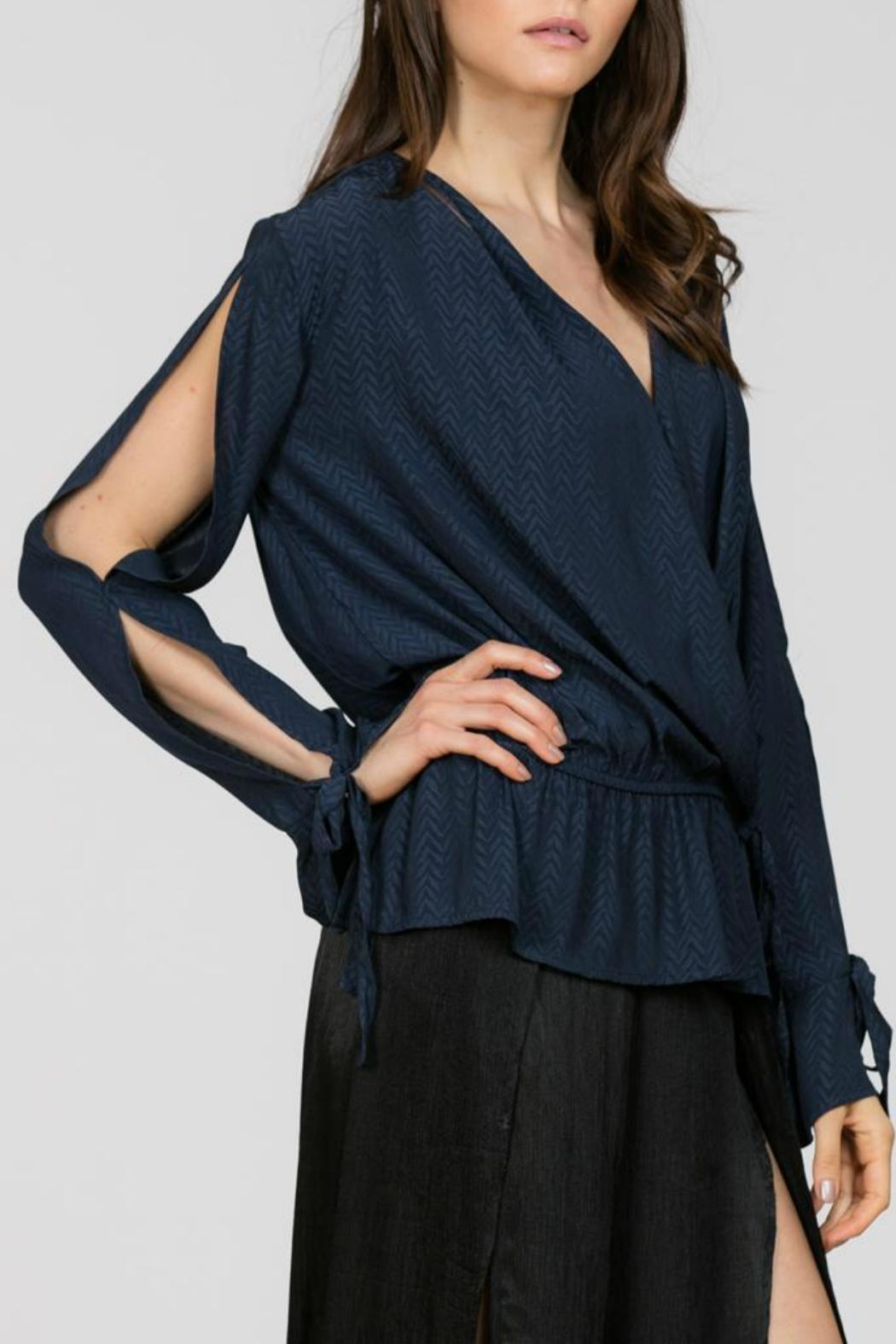 Ark & Co. Long Sleeve Top - Back Cropped Image