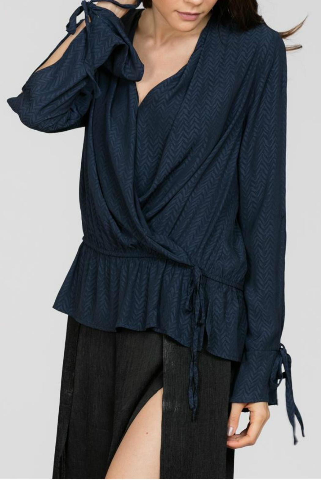 Ark & Co. Long Sleeve Top - Side Cropped Image