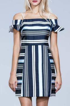Ark & Co. Navy Striped Dress - Product List Image