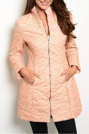 Ark & Co. Peach Wind Coat - Product Mini Image