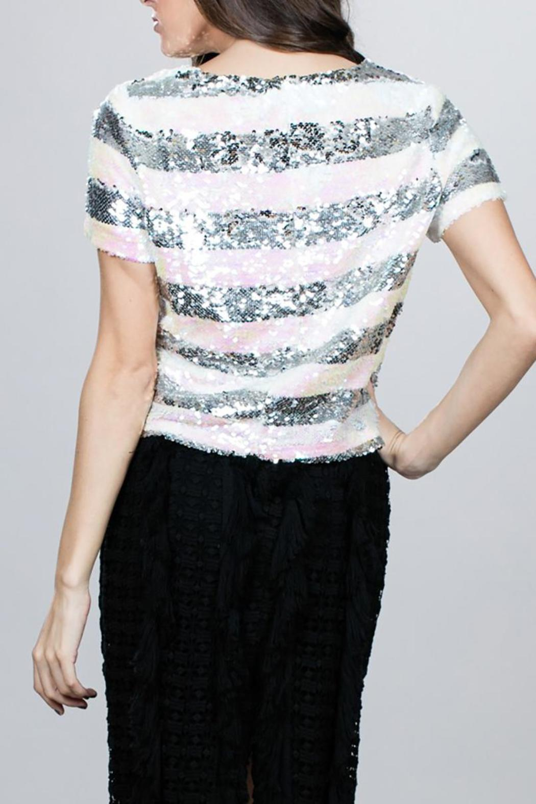Ark & Co. Sequin Box Top - Side Cropped Image