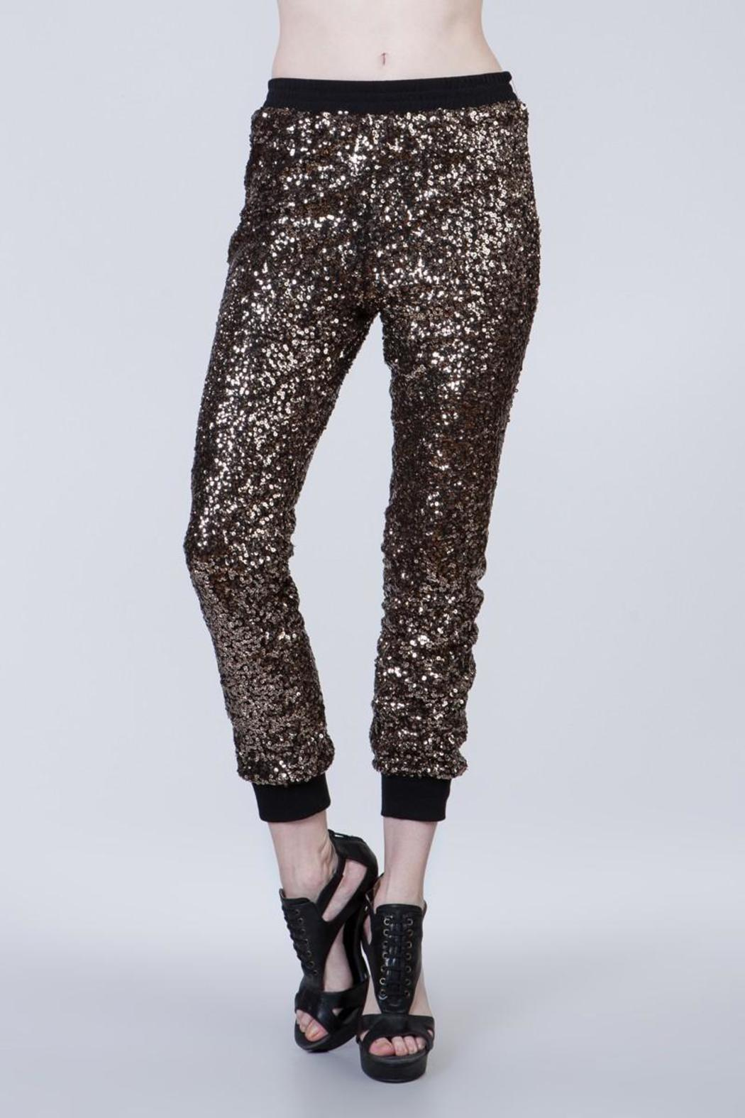 Ark & Co. Sequin Joggers - Main Image
