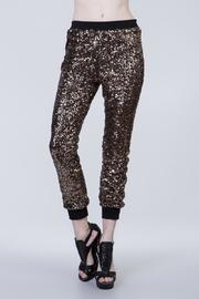 Ark & Co. Sequin Joggers - Front cropped