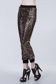 Ark & Co. Sequin Joggers - Front full body
