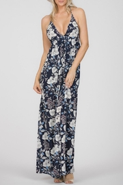 Ark & Co. Stappy Back Maxi Dress - Front cropped