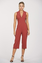 Ark & Co. Tuxedo Jumpsuit - Product Mini Image