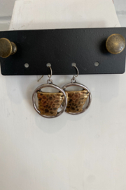 Kindred Mercantile  Arkansas State Earrings - Product Mini Image