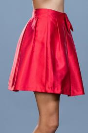 Ark & Co. Red Cocktail Skirt - Back cropped