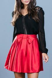 Ark & Co. Red Cocktail Skirt - Front cropped