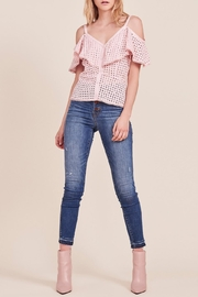 BB Dakota Arletta Eyelet Top - Product Mini Image