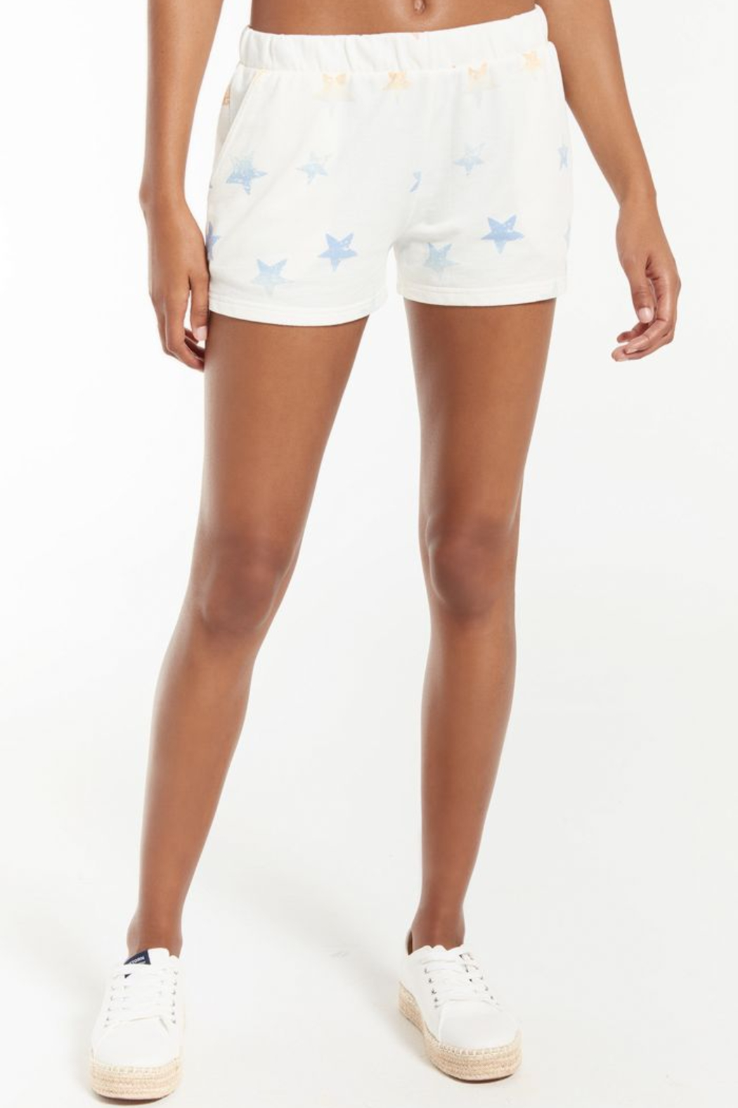 z supply Arlie Rainbow Star Short - Front Cropped Image