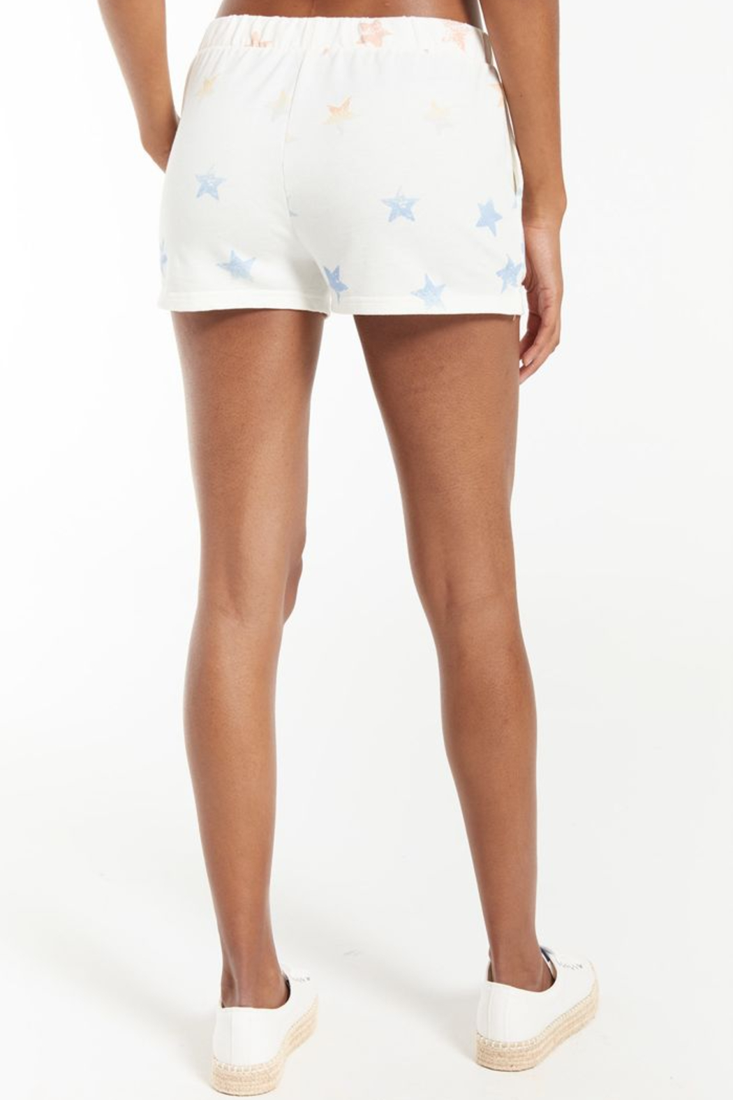 z supply Arlie Rainbow Star Short - Side Cropped Image