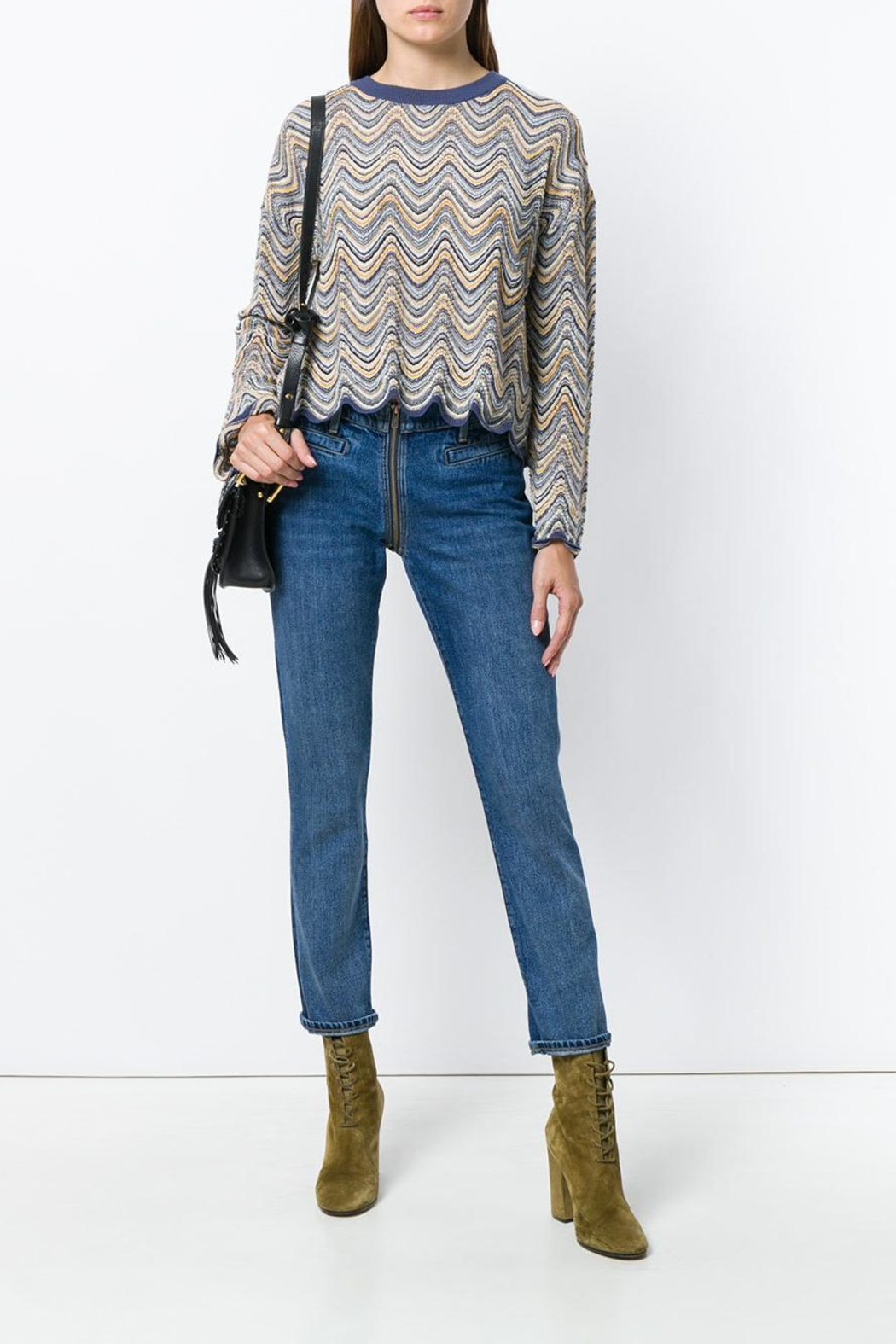 MiH Jeans Arlo Sweater - Front Full Image