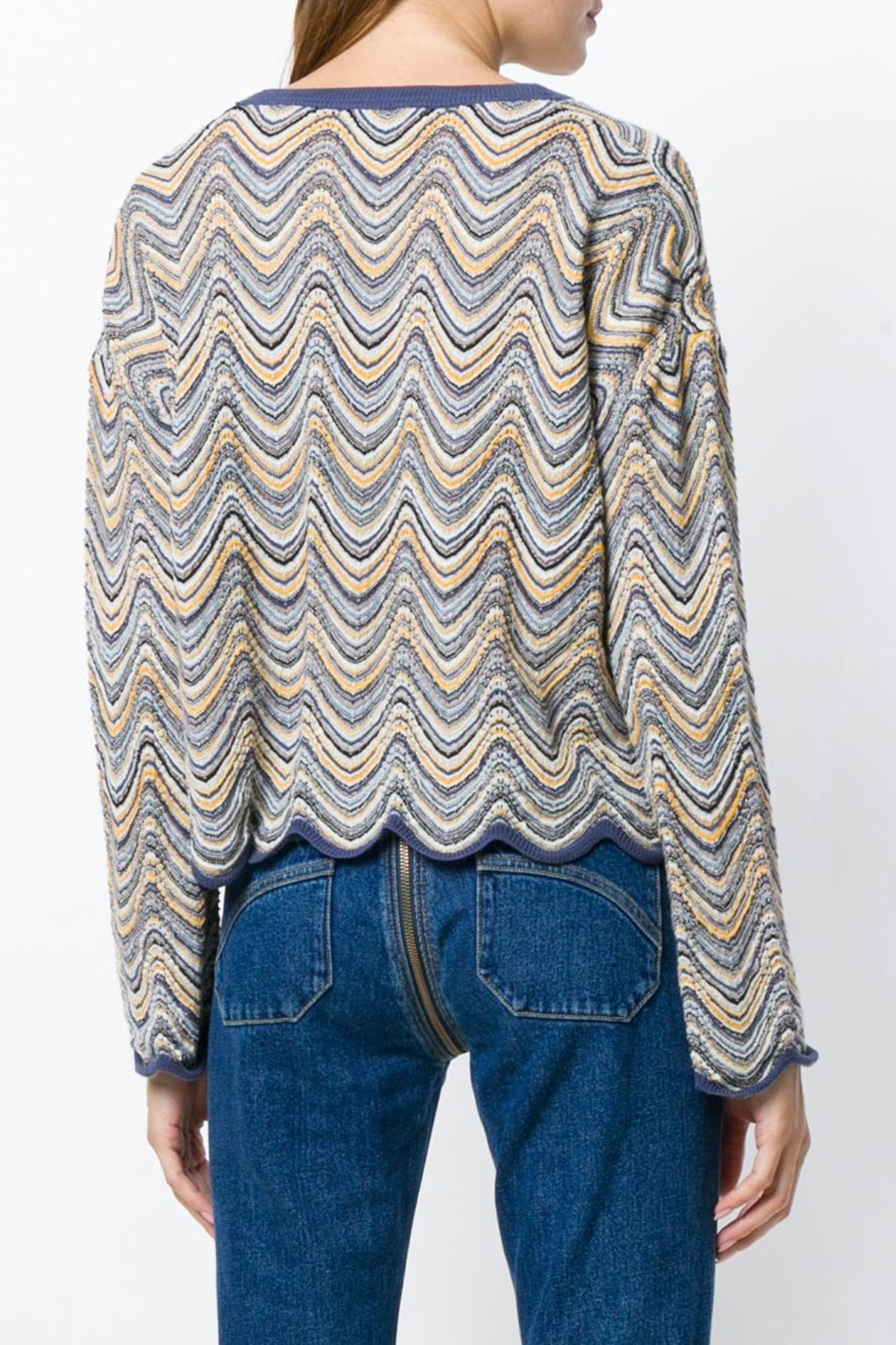 MiH Jeans Arlo Sweater - Back Cropped Image