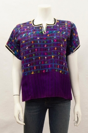 Arloom Vintage Huipil Top - Product Mini Image
