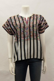 Arloom Vintage Woven Top - Front cropped