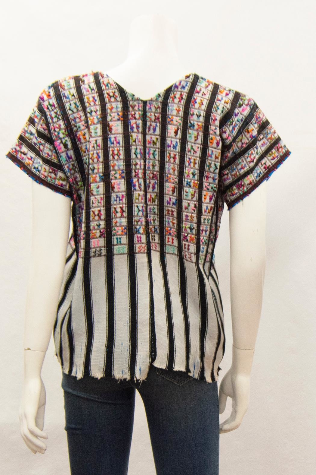 Arloom Vintage Woven Top - Front Full Image
