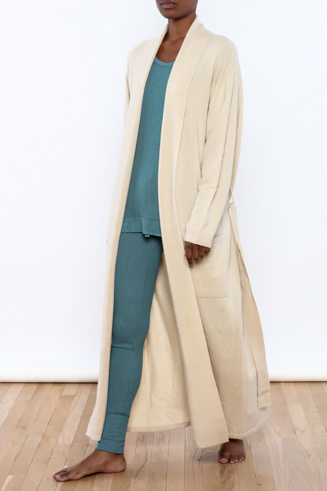 Arlotta Cashmere Duster Robe from Idaho by Madeline and Oliver ...