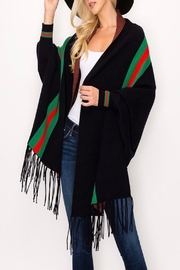 Armario De La Bella Striped Poncho - Product Mini Image