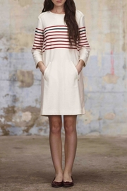 Armor Lux Nautical Striped Dress - Front full body