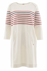 Armor Lux Nautical Striped Dress - Front cropped