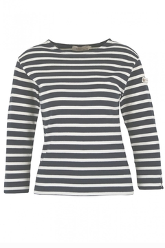 Armor Lux Navy & White Breton Shirt - Product List Image