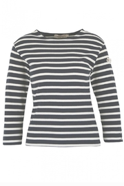 Armor Lux Navy & White Breton Shirt - Product Mini Image