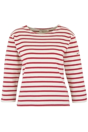 Armor Lux Red Breton Shirt - Front cropped
